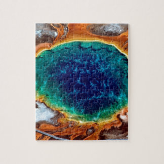 Park Midway Geyser Grand Yellowstone Wyoming Jigsaw Puzzle