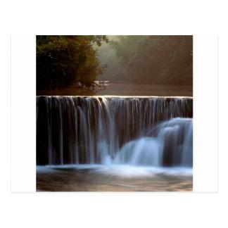 Park Natural Dam Ozark Forest Arkansas Postcard