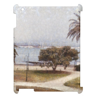 Park on waterfront in Melbourne iPad Cases
