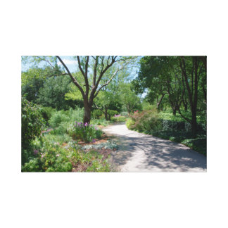 Park Path Gallery Wrapped Canvas