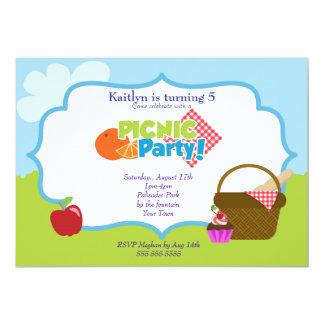 Park Picnic Party Cards