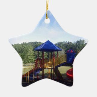 Park Playground Christmas Ornament