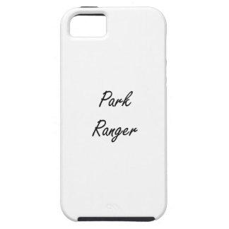 Park Ranger Artistic Job Design iPhone 5 Cases