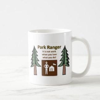 Park Ranger Basic White Mug