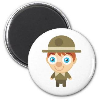 Park Ranger - My Conservation Park Fridge Magnet