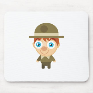 Park Ranger - My Conservation Park Mousepad