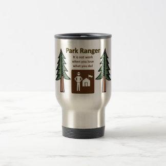Park Ranger Stainless Steel Travel Mug
