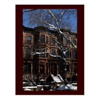 Park Slope, Brooklyn, NY Brownstone Postcard