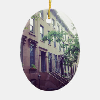 Park Slope Christmas Ornament