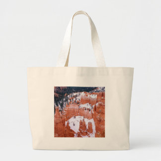 Park Snowy Bryce Canyon Utah Bags