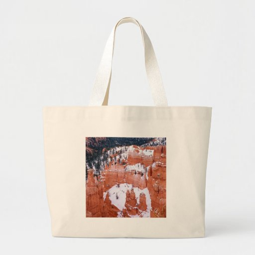 Park Snowy Bryce Canyon Utah Bags