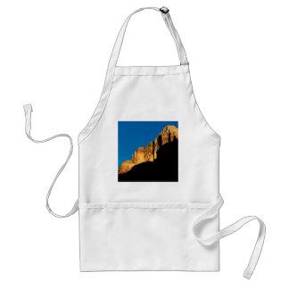 Park Sunset Light On Canyon Wall Grand Canyon Adult Apron