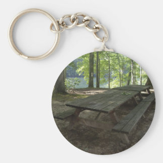 Park Tables Basic Round Button Key Ring