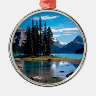 Park The Great Outdoors Jasper Alberta Canada Christmas Ornament