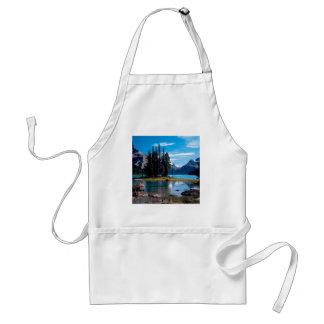 Park The Great Outdoors Jasper Alberta Canada Standard Apron