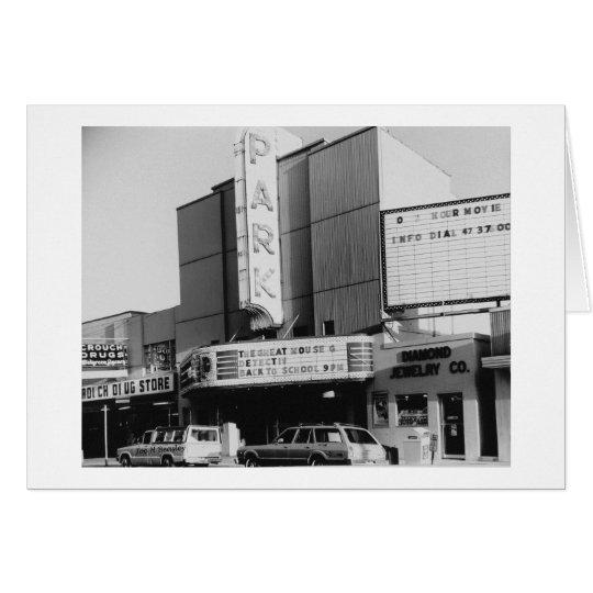 Park Theatre Circa 1986 Card