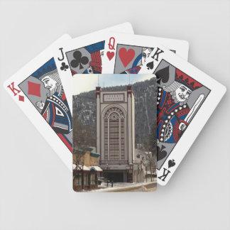 Park Theatre in Estes Park, Colorado Playing Cards