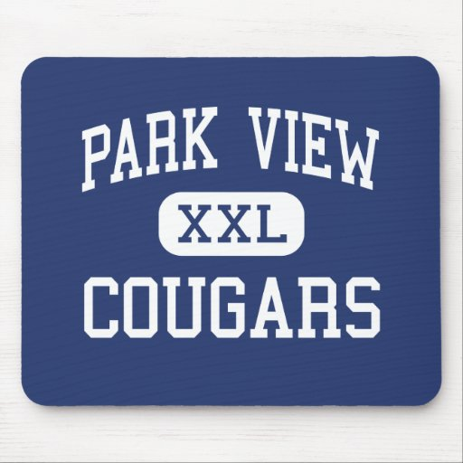 Park View Cougars Middle South Hill Virginia Mousepad