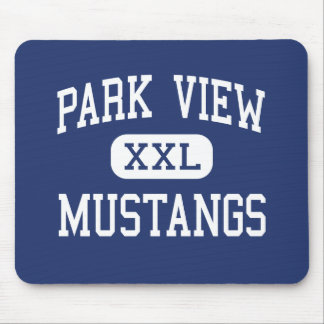 Park View Mustangs Middle Mukwonago Mouse Pad