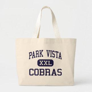 Park Vista - Cobras - High - Lake Worth Florida Jumbo Tote Bag