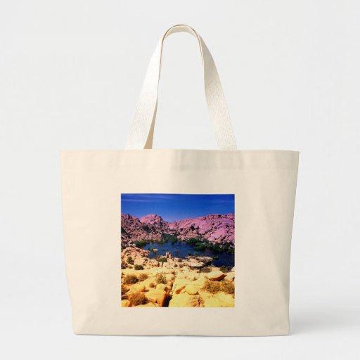 Park Vivid Vista Joshua Tree California Tote Bag