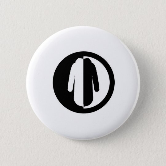 Parka Power is a cool retro mod motif 6 Cm Round Badge