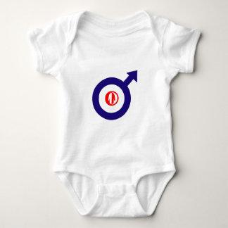 Parka Power + mod target Baby Bodysuit