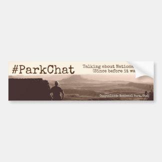 #ParkChat Twitter Bumper Sticker Canyonlands