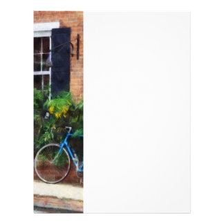 Parked Bicycle Personalized Flyer