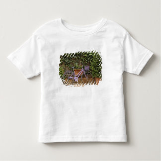 Parked bicycle, Pienza, Italy, Tuscany Toddler T-Shirt