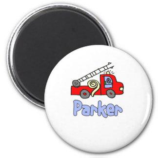 Parker 6 Cm Round Magnet