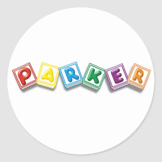 Parker Stickers