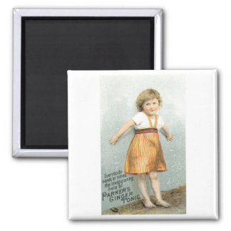 Parkers Ginger Tonic 2 Square Magnet