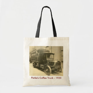 Parke's Coffee Truck - 1920 Budget Tote Bag