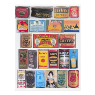 Parke's Products Postcard