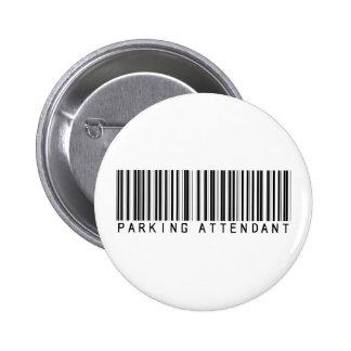 Parking Attendant Bar Code Button