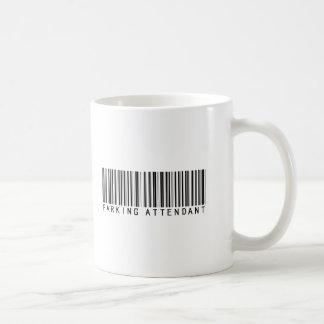 Parking Attendant Bar Code Coffee Mug