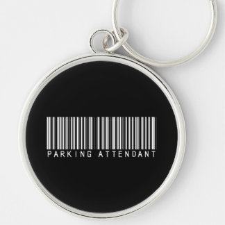 Parking Attendant Bar Code Keychains