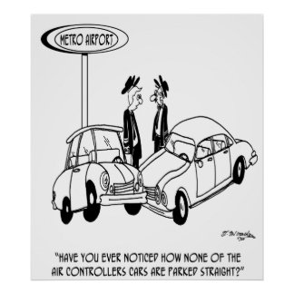 Parking Cartoon 5133 Poster