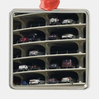 Parking garage Marina City Chicago Illinois USA Christmas Ornament