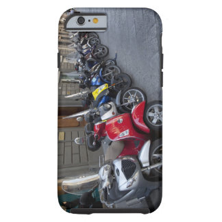 Parking is extremelly hard to find, Scooters are Tough iPhone 6 Case
