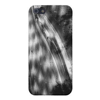 Parking lot in black and white. iPhone 5/5S case