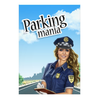 Parking mania Poster Photographic Print
