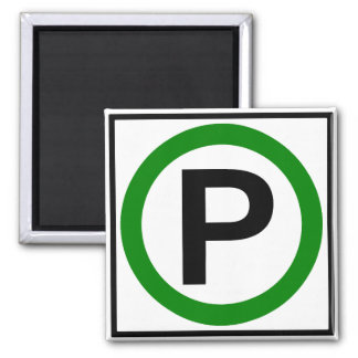 Parking Permitted Highway Sign Magnets