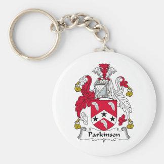 Parkinson Family Crest Key Chain