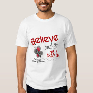 Parkinson's Butterfly 2 Believe And It Will Be Shirt