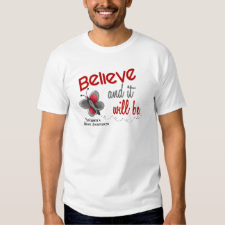 Parkinson's Butterfly 2 Believe And It Will Be Shirts