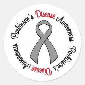 Parkinson s Disease Awareness Round Sticker