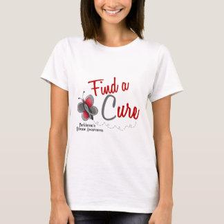 Parkinson's Disease Butterfly 2 Find A Cure T-Shirt