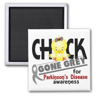 Parkinson s Disease Chick Gone Grey 2 Magnets
